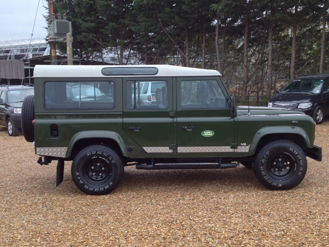 Used Land Rover Defender 110 35 V8 County Station Wagon