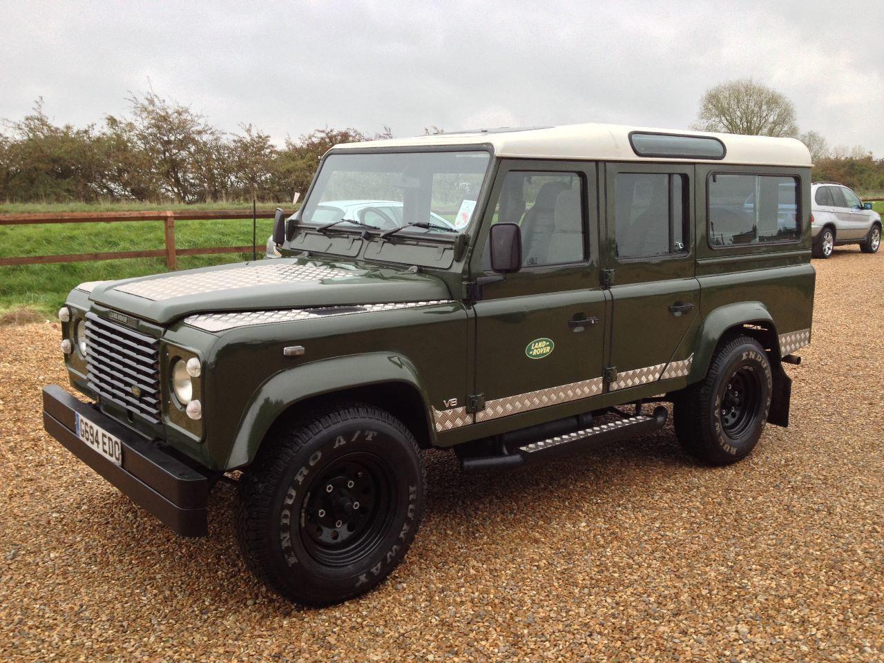 Used Land Rover Defender 110 35 V8 County Station Wagon