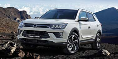 New SsangYong Korando from £17,495