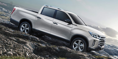 New SsangYong Musso